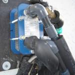 L'échangeur à plaques : il transfère les calories du solaire vers la piscine